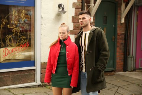 Juliet and Romeo Quinn in Hollyoaks
