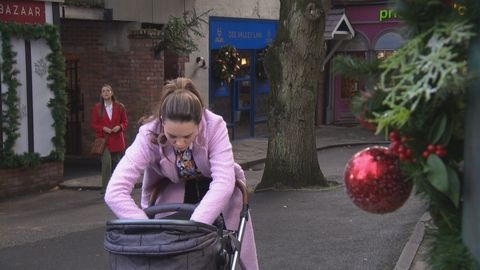 sienna blake watches liberty savage and faith in hollyoaks