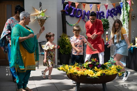 The Maalik family celebrate Eid in Hollyoaks