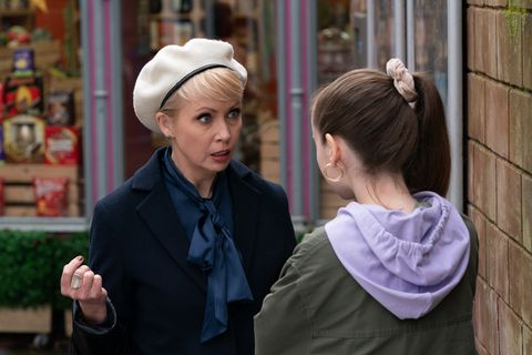 Marnie and Juliet Nightingale in Hollyoaks