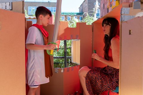 Mercedes McQueen makes an effort with Bobby Costello in Hollyoaks