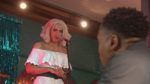 Anita Tinkle performs at The Dog in Hollyoaks
