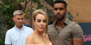 Ste Hay, Sinead Shelby and Sami Maalik in Hollyoaks