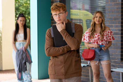 juliet nightingale, timmy and peri lomax in hollyoaks