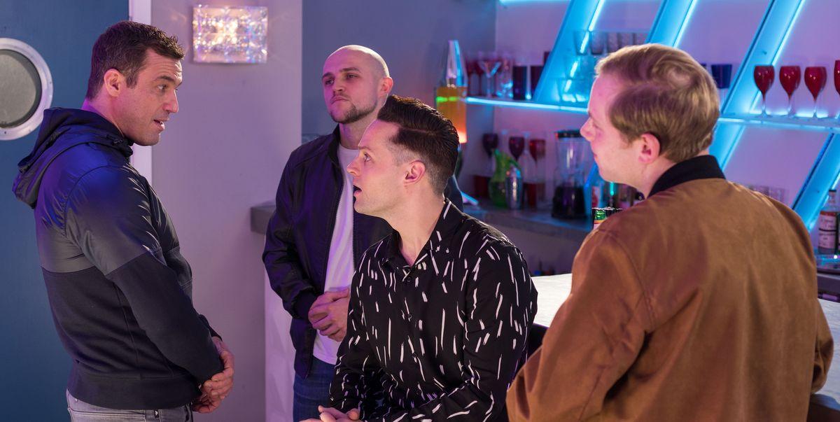 Hollyoaks star promises major Liam and Warren showdown