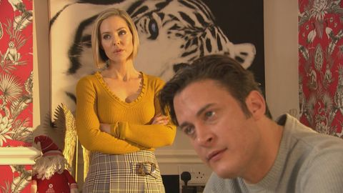 cindy cunningham and luke morgan in hollyoaks