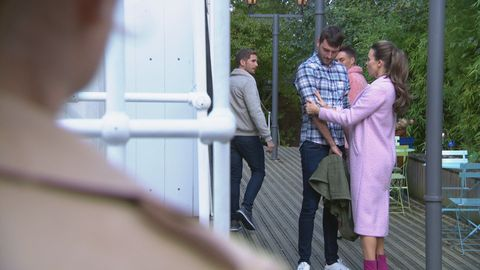Damon Kinsella and Liberty Savage in Hollyoaks