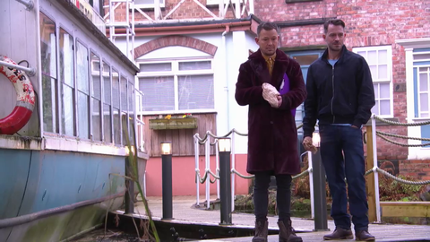 Darren Osborne and Kyle Kelly in Hollyoaks