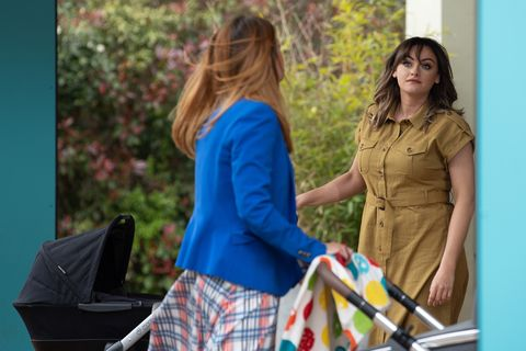 diane hutchinson and becky in hollyoaks