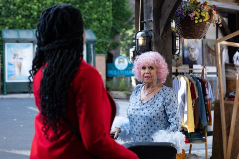 pearl anderson and nana mcqueen in hollyoaks