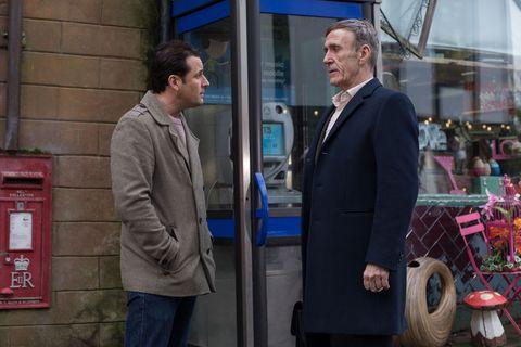 Tony and Edward Hutchinson in Hollyoaks