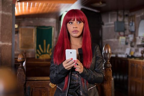 Lily McQueen's funeral day in Hollyoaks