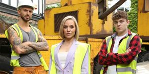 Woody, Cindy Cunningham and Tom Cunningham in Hollyoaks