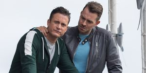 Luke Morgan and Darren Osborne in Hollyoaks