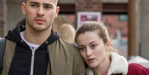 Romeo Quinn and Lily McQueen in Hollyoaks