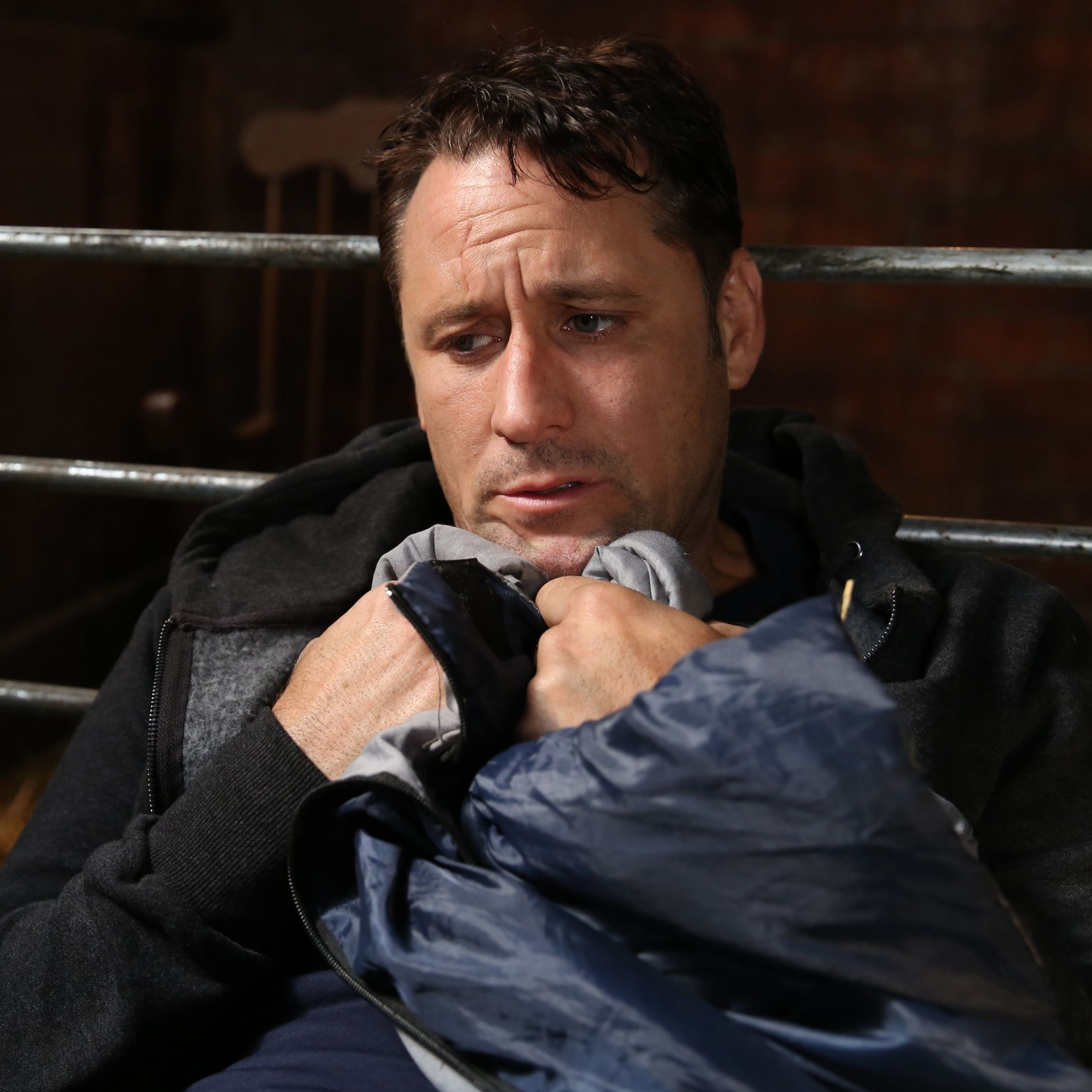 Hollyoaks reveals Tony Hutchinson could be found by Goldie McQueen