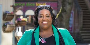 Alison Hammond in Hollyoaks