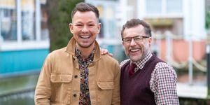 Hollyoaks, Adam Rickitt and Chris Quinten