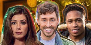 Hollyoaks Christmas Teaser, Mictehll Deveraux, Scott Drinkwell, Maxine Minniver