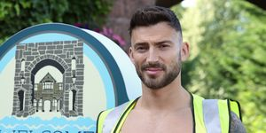 Jake Quickenden as Woody in Hollyoaks