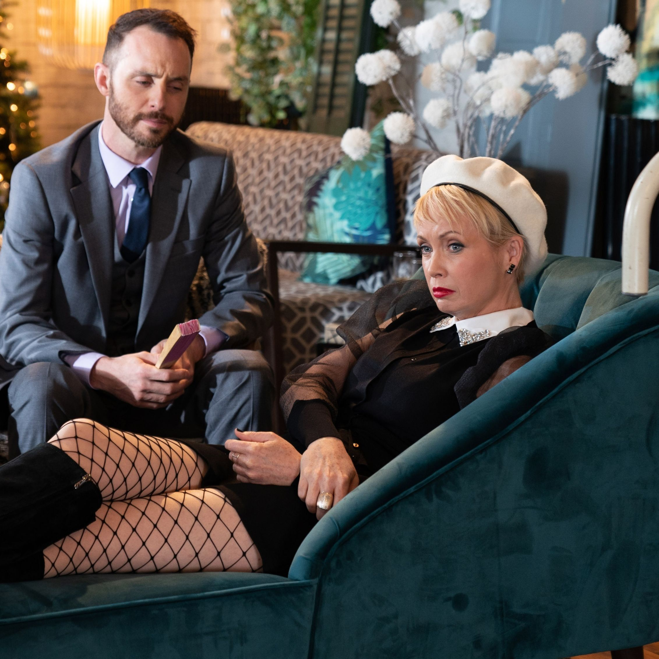 Hollyoaks' Marnie Nightingale faces a big setback at her new business launch
