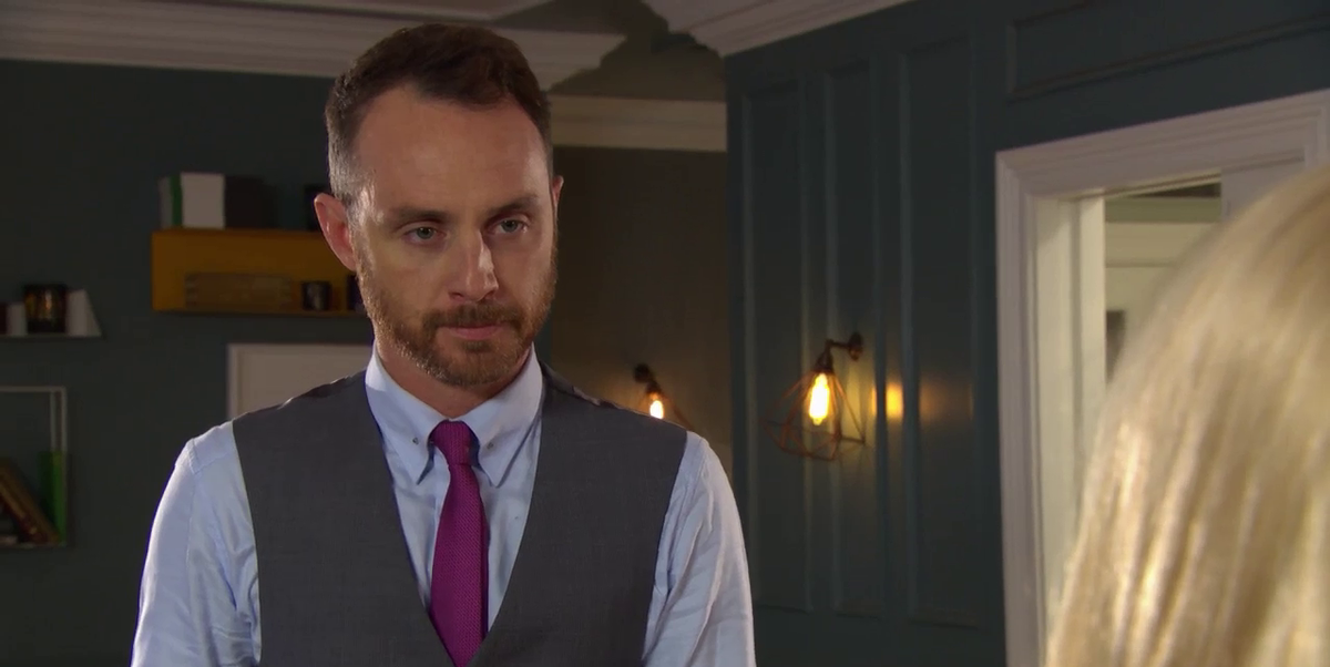 Hollyoaks' James Nightingale struggles with his guilt over Jesse Donovan in a new clip