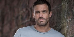 Jamie Lomas as Warren Fox in Hollyoaks