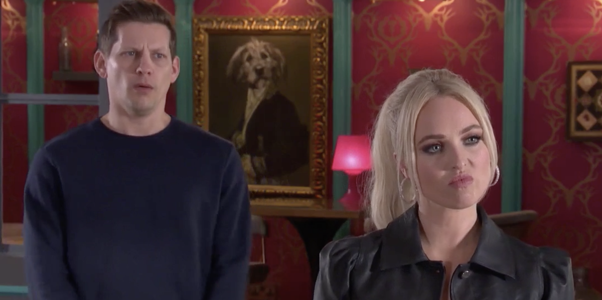 Hollyoaks' McQueens member covers up George Kiss murder