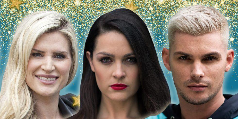 Sienna Blake, Ste Hay, Sarah Jayne Dunn, Hollyoaks Nailing it