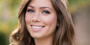 Nikki Sanderson as Maxine Minniver in Hollyoaks