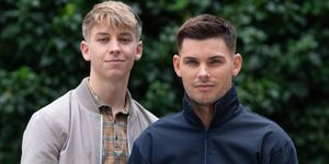 Sid Sumner and Ste Hay in Hollyoaks