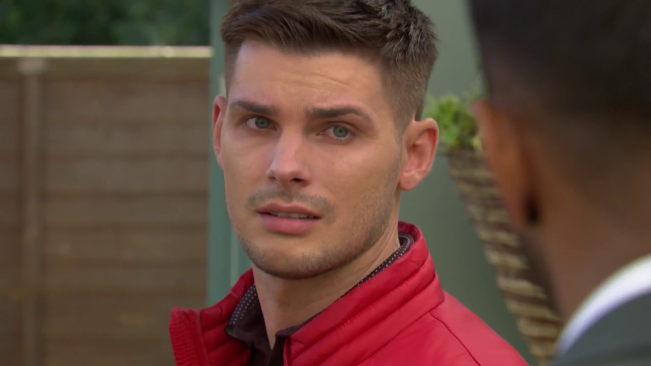 Hollyoaks reveals a first look at Ste Hay's exit scenes as Kieron Richardson takes a break