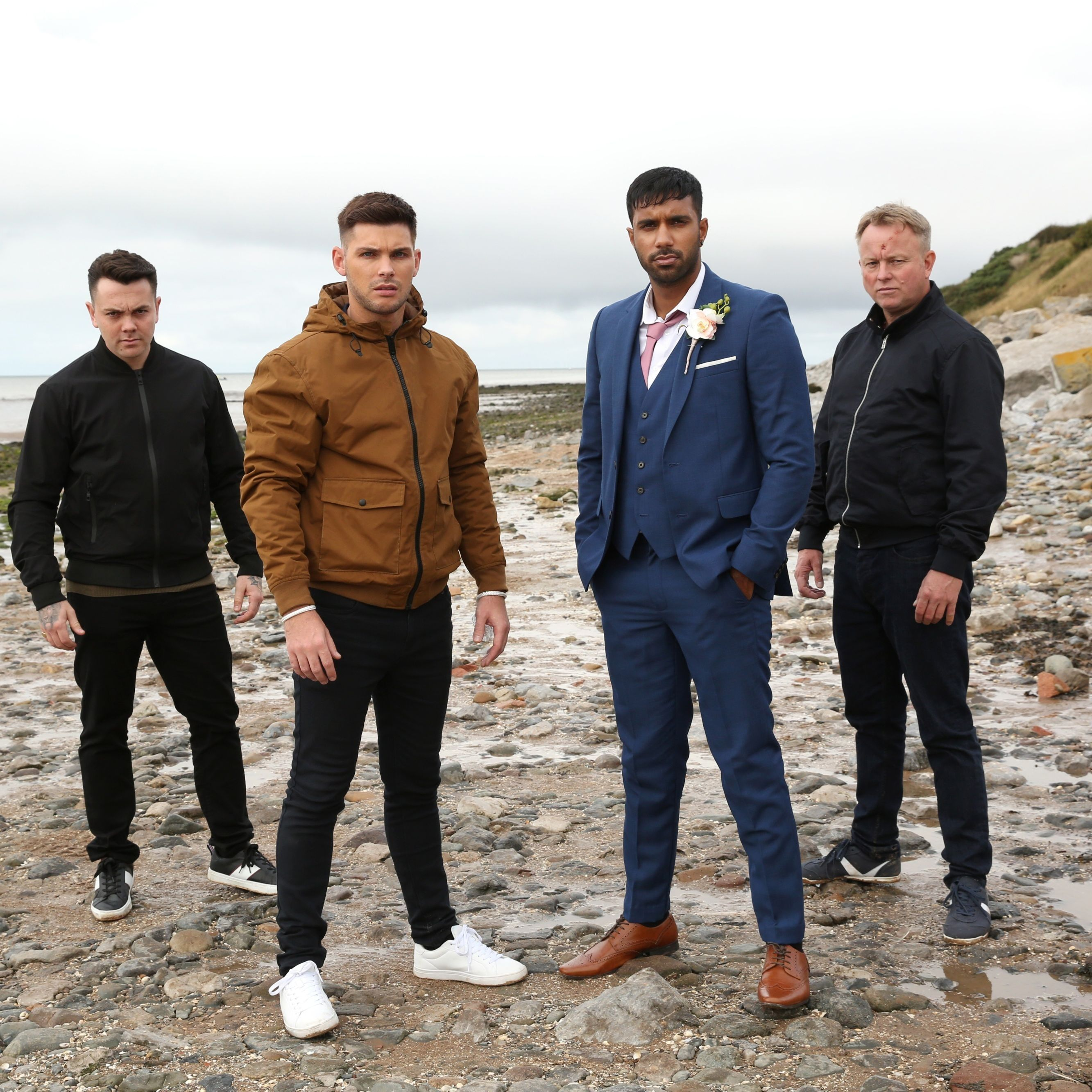Hollyoaks confirms cast exits as dramatic clifftop scenes are revealed