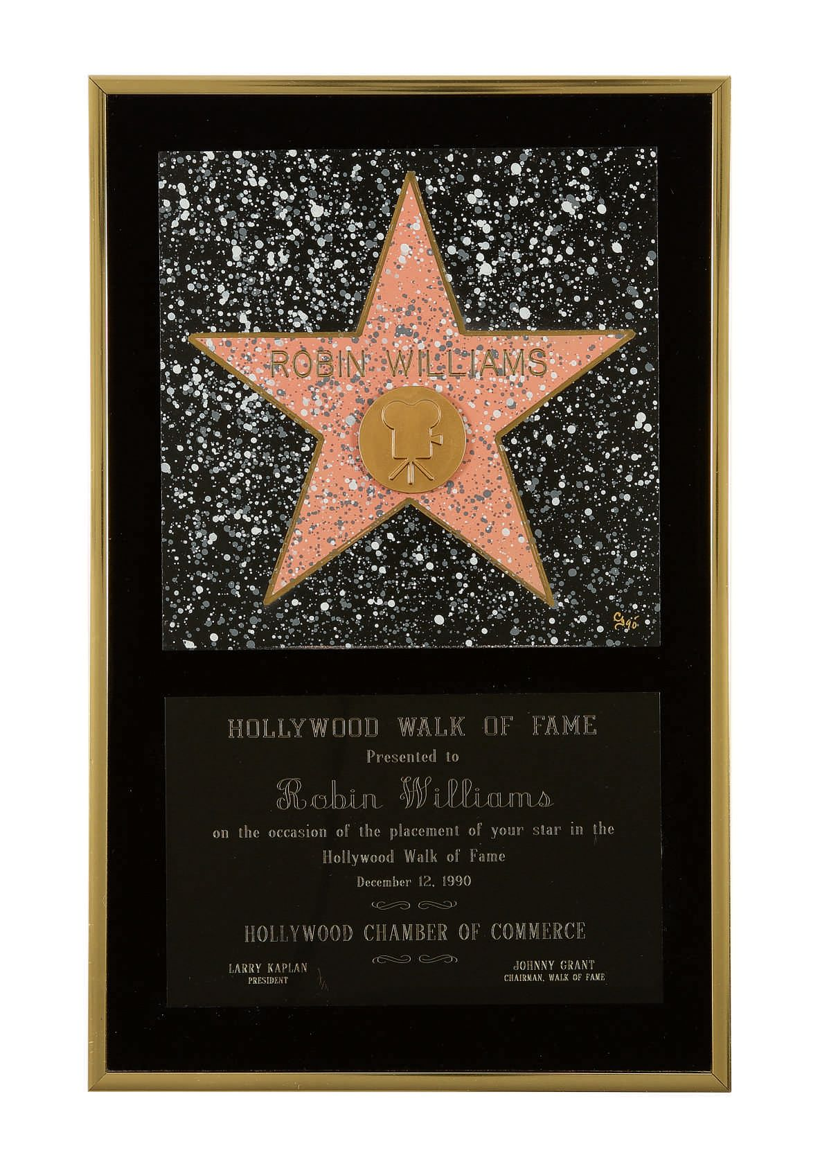 CREATING A STAGE: THE COLLECTION OF MARSHA AND ROBIN WILLIAMS