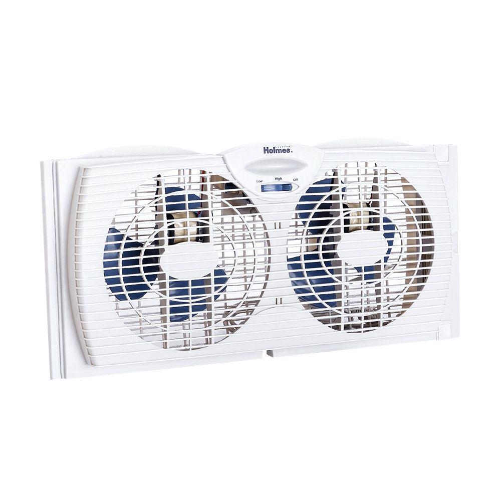 Holmes Dual Blade Twin Window Fan