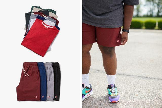 homage shirt and shorts