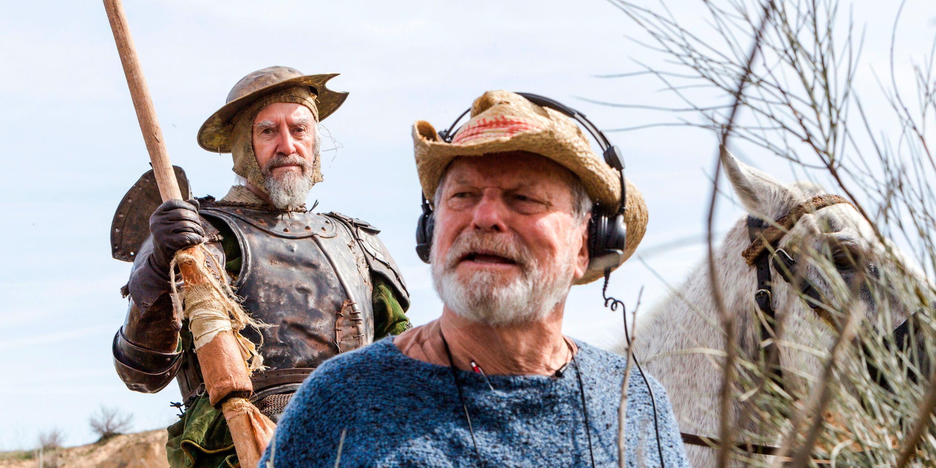 Jonathan Pryce y Terry Gilliam