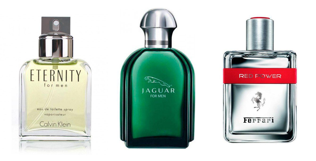 botes de perfumes hombres