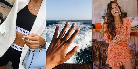 Esmalte de uñas de las influencers