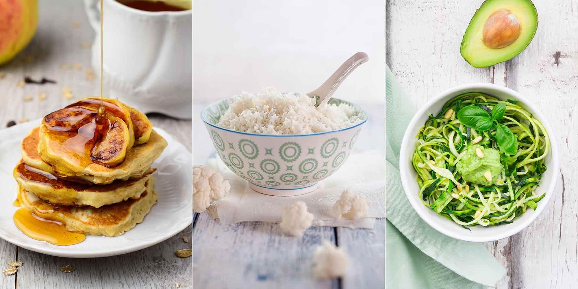 los tallarines de arroz engordan