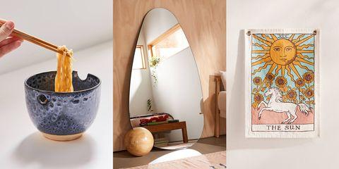 Room, Interior design, Furniture, Floor, Table, Art, House, Wallpaper,