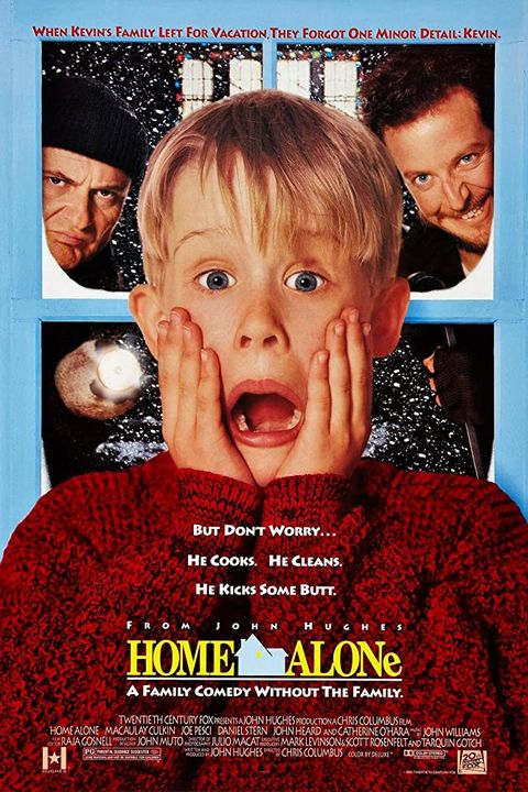 Home Alone Poster Starring Macaulay Culkin