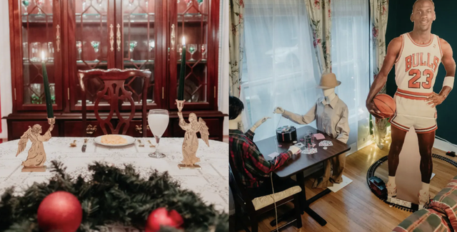 christmas getaway at a home alone inspired airbnb