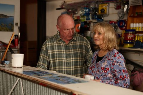 Alf and Martha Stewart in Home and Away