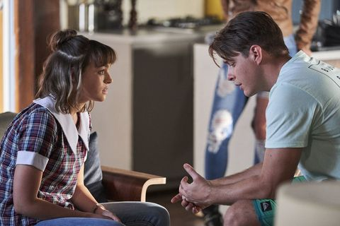 Colby Thorne confesses to Bella Nixon in Home and Away