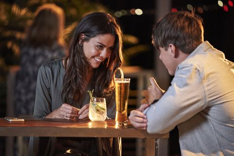 Mackenzie Booth and Colby Thorne go on a date in Home and Away