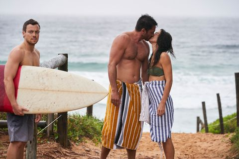 dean thompson, ari parata and mackenzie booth in home and away