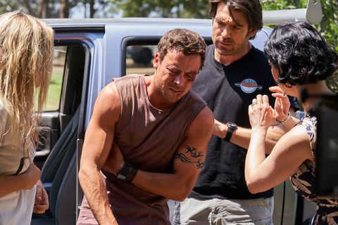 Dean Thompson has been injured in Home and Away
