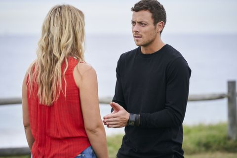 Dean Thompson is honest with Ziggy Astoni in Home and Away