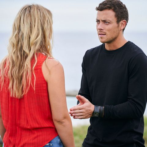 Dean Thompson with Ziggy Astoni in Home and Away